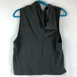 Forever 21 Tops - Forever 21 Women's Active Sleeveless Hoodie NWT